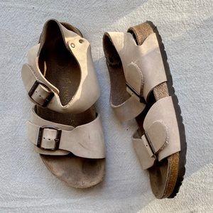 Birkenstock Papillo Tan Sandals